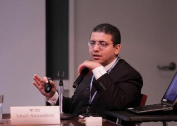 Ismail Alexandrani an Egyptian journalist who was sentenced to 10 years in prison. (social media)