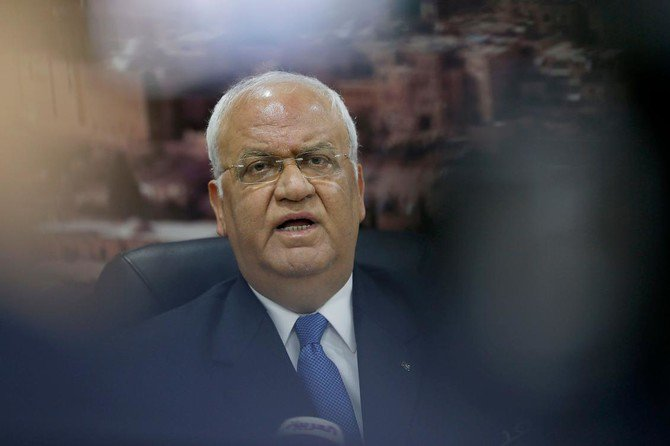 Saeb Erekat, secretary general of the Palestine Liberation Organization./ (AFP)