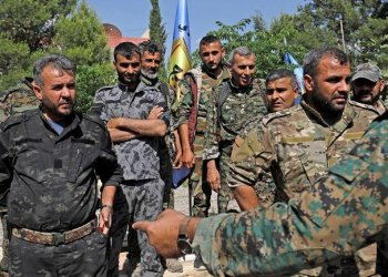 The leading Syrian Kurdish militia said on June 5 it would withdraw from Manbij, easing fears of a direct clash between NATO allies Washington and Ankara over the strategic northern town. (AFP)