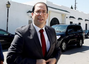 Tunisian prime minister Youssef Chahed./ (AFP)