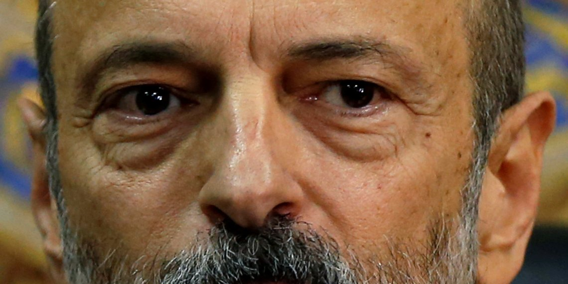 FILE PHOTO: Jordan's Prime Minister Omar al-Razzaz speaks during a news conference in Amman, Jordan June 19, 2018. REUTERS/Muhammad Hamed/File Photo