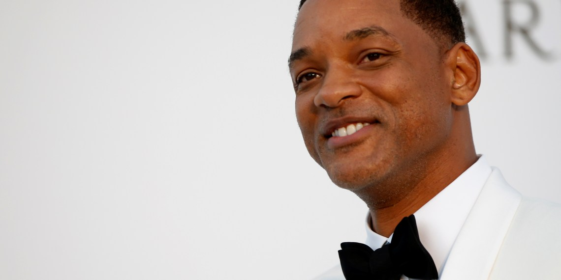 FILE PHOTO: 70th Cannes Film Festival – The amfAR's Cinema Against AIDS 2017 event – Photocall Arrivals - Antibes, France. 25/05/2017. Jury member actor Will Smith poses. REUTERS/Stephane Mahe/File Photo