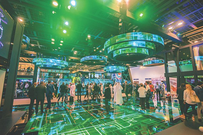 Gitex Technology Week in Dubai. Dubai — a blockchain pioneer — aims to have the world's first fully digitized government by 2021. (Shutterstock)