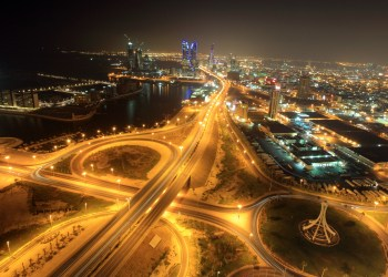 FILE PHOTO: City view of Bahrain's capital Manama is seen from Abraj Al Lulu September 2, 2010. REUTERS/Hamad I Mohammed