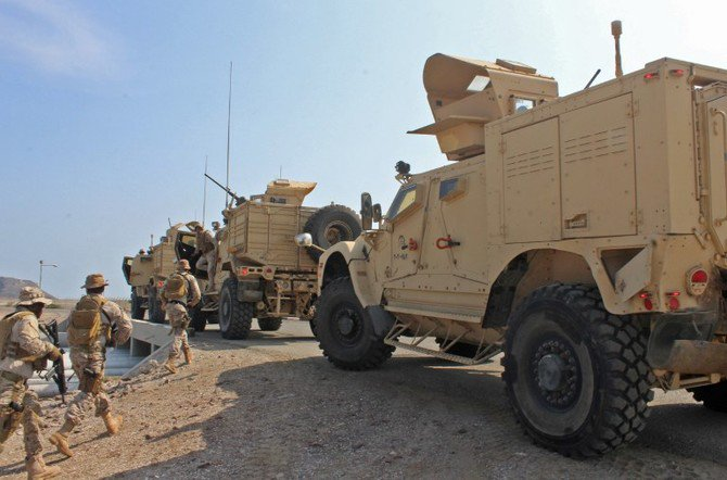 A senior military official said the Houthis continued to suffer major defeats in clashes with the Arab coalition-backed army forces. (File/AFP)