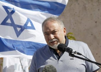 """Israeli Defense Minister Avigdor Lieberman said the US sanction is the """"sea-change the Middle East has been waiting for."""" (AFP)"""