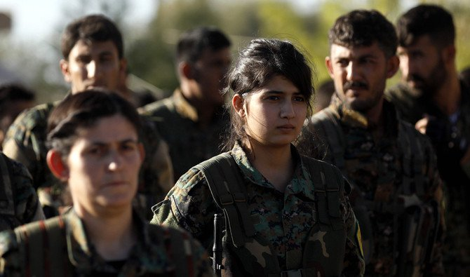 Turkey has been hugely unhappy over cooperation in Syria between the US and the People's Protection Units (YPG), which Ankara considers a branch of the PKK. (AFP)