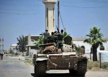 Extremists on Friday killed nine Syrian regime fighters near a planned buffer zone around the country's last major rebel bastion. (AFP)