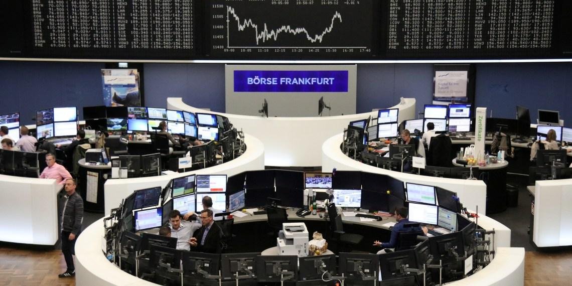 The German share price index DAX graph is pictured at the stock exchange in Frankfurt, Germany, November 6, 2018.  REUTERS/Staff