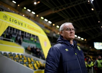 FILE PHOTO: Soccer Football - Ligue 1 - Nantes vs Monaco - The Stade de la Beaujoire - Louis Fonteneau, Nantes, France - November 29, 2017 Nantes coach Claudio Ranieri REUTERS/Stephane Mahe/File Photo