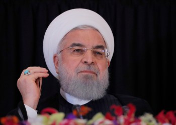file photo: Iran's President Hassan Rouhani listens during a news conference on the sidelines of the 73rd session of the United Nations General Assembly at U.N. headquarters in New York, U.S., September 26, 2018. REUTERS/Brendan Mcdermid