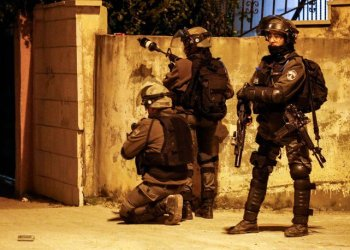 The Israeli military on Friday confirmed the overnight arrests. (File/AFP)