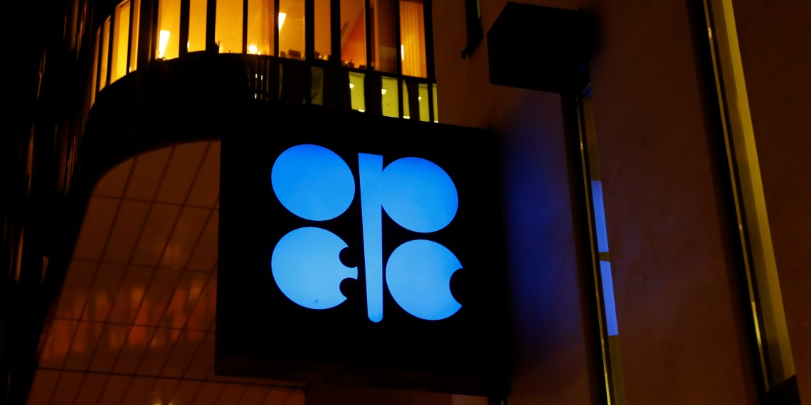 The logo of the Organisation of the Petroleum Exporting Countries (OPEC) is seen at OPEC's headquarters in Vienna, Austria December 5, 2018. REUTERS/Leonhard Foeger