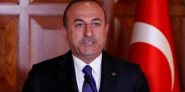 Turkish Foreign Minister Mevlut Cavusoglu attends a news conference in Ankara. (File photo: Reuters)