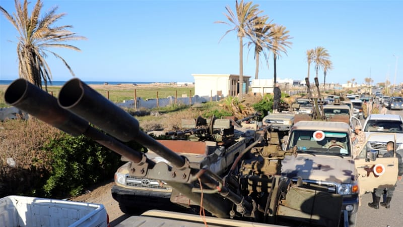 Renegade General Khalifa Haftar's self-styled Libyan National Army launched an offensive on April 4 aimed at capturing Tripoli [File: Hani Amara/Reuters]