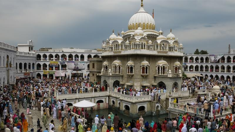 Pakistan is the site of Sikhism's founding and home to some of its holiest sites [Asad Hashim/Al Jazeera]