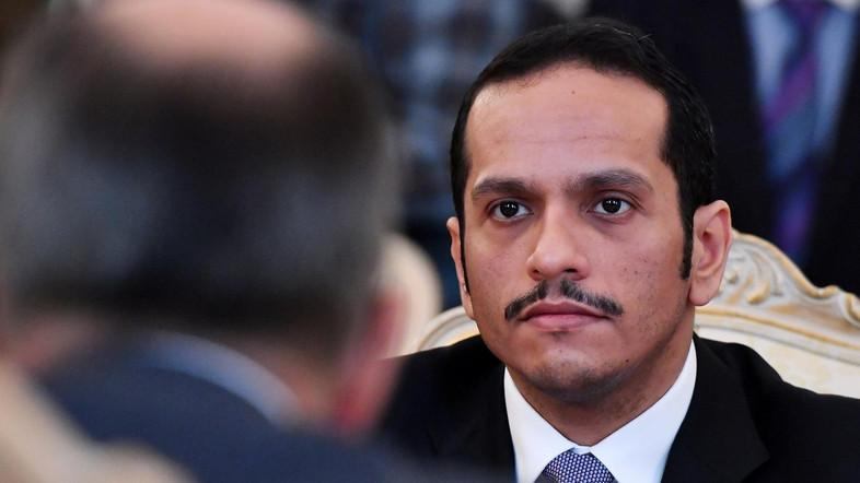 Qatari Foreign Minister Mohammed bin Abdulrahman al-Thani returned to Doha after being told his delegation did not follow diplomatic protocol. (File photo: AFP)