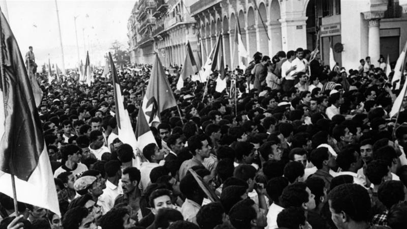Algeria gained independence from France in 1962 [Getty Images]