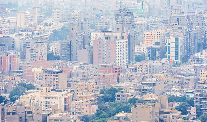 A view of Cairo with smoke and harmful emissions in the air. (Shutterstock)