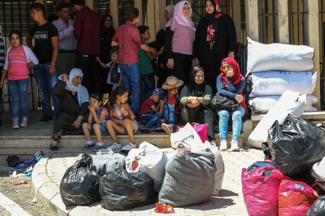 There are around 1 million Syrian refugees in Lebanon. (File/AFP)