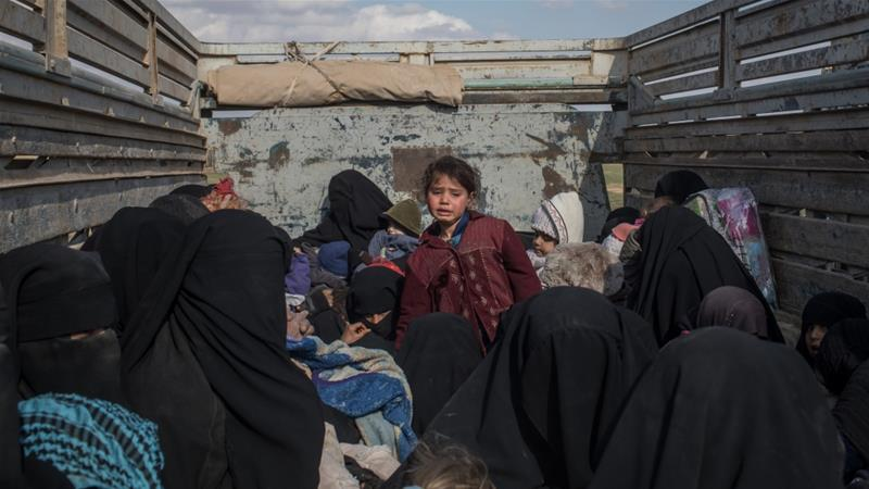 Thousands of ISIL family members are living in camps in northern Syria [File: Chris McGrath/Getty Images]