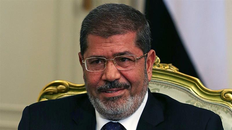 Former Egyptian president Mohamed Morsi [File: Getty Images]