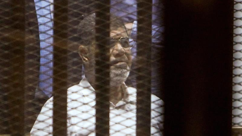 Morsi was buried in a small family ceremony in Cairo [Ahmed Ramadan/Anadolu Agency/Getty Images]