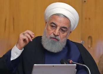 President Hassan Rouhani speaking during a cabinet meeting in the capital Tehran. (File photo: AFP)