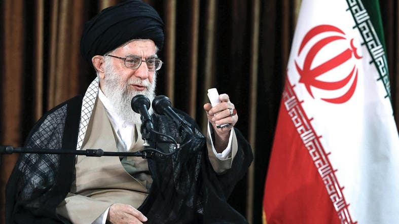 Iranian Supreme Leader Ali Khamenei warned on Tuesday that the seizure of an Iranian oil tanker on July 4 in Gibraltar will not be left unanswered. (File photo: AFP)