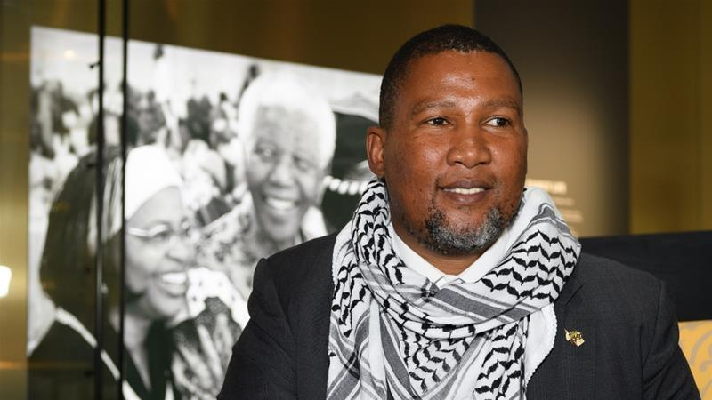 Mandela sketched out a damning picture of the discrimination experienced by the Palestinian people [File: Leon Neal/Getty Images]
