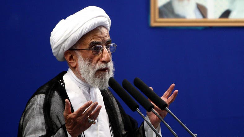 Jannati is very close to Supreme Leader Ali Khamenei and is known for his anti-US views and remarks. (File photo: AP)