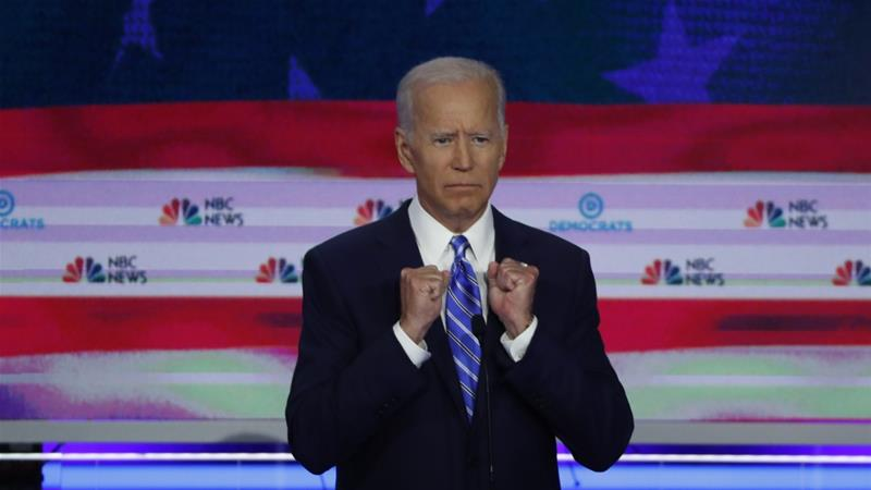 Democratic presidential hopeful Joe Biden has recently been criticised for touting his ability to work with Southern segregationists decades ago as an example of bipartisan cooperation [File: Reuters]