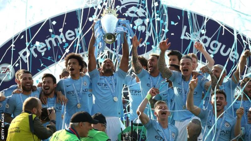 Manchester City picked up the Premier League, FA Cup, Carabao Cup and Community Shield trophies in 2018-19