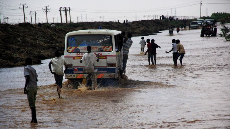 The downpours, which have battered parts of Sudan for days now, destroyed hundreds of homes in the capital Khartoum. (File photo: AP)