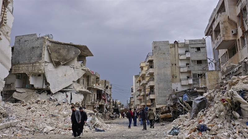 Idlib province and parts of the adjacent Hama province are the last major opposition strongholds in Syria [Muhammed Haj Kadour/AFP]