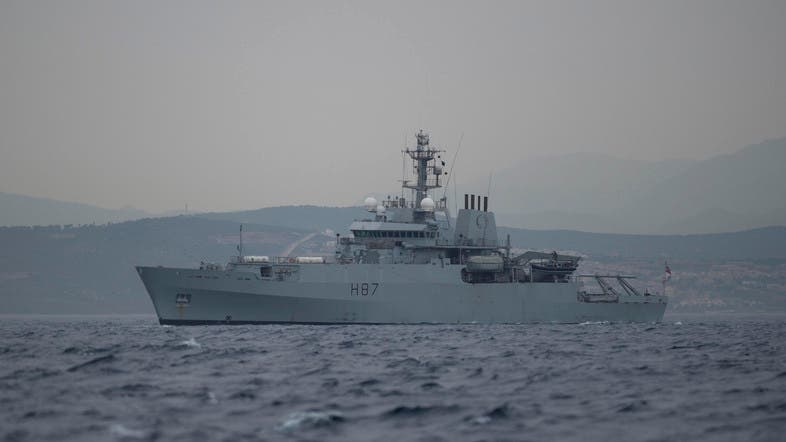 British Royal Marines seized the tanker on July 4 off the coast of the British Mediterranean territory of Gibraltar. (File photo: AFP)