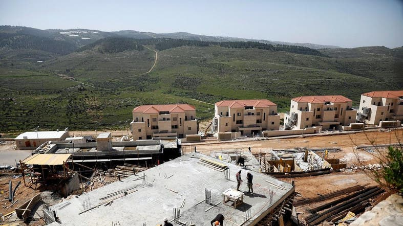 Labourers work at a construction site in the Israeli settlement of Beitar Illit in the Israeli-occupied West Bank. (File photo: Reuters)