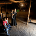 FILE PHOTO: A blind mother and her children pose for a photo inside their home made of mud and stone and roofed with wicker and thatch in Oued al-Berber, Tunisia September 4, 2019. Photo taken September 4, 2019. REUTERS/Zoubeir Souissi