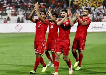 Bahrain now shares the lead with Iraq at the top of Group C on seven points. (Photo courtesy: Bahrain News Agency)