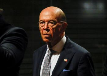FILE PHOTO: U.S. Secretary of Commerce Wilbur Ross attends the 25th anniversary of the establishment of the American Chamber of Commerce in Vietnam, at a hotel in Hanoi, Vietnam November 8, 2019. REUTERS/Kham