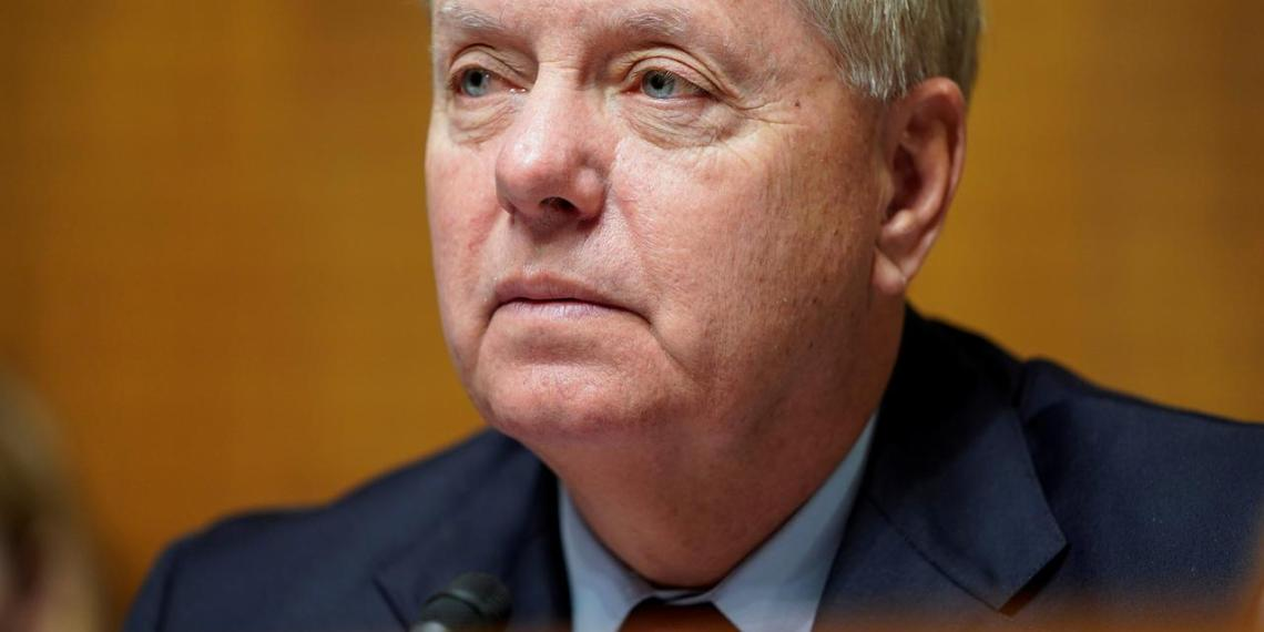 Chairman of the Senate Judiciary Committee Lindsey Graham (R-SC) speaks during the reauthorization of Freedom Act on Capitol Hill in Washington, U.S., November 6, 2019. REUTERS/Joshua Roberts