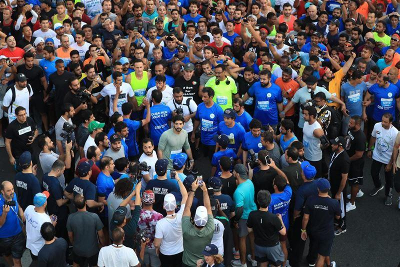 Spearheaded by Sheikh Hamdan, the event featured two courses to ensure it is highly inclusive – a 5km and 10km route.