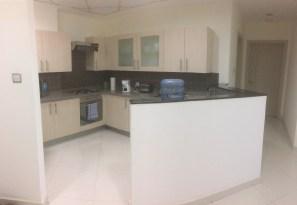 Kitchen... everything is mini - sink, oven, fridge...