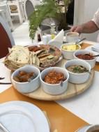 Traditional Bahraini breakfast!