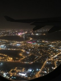 View of Bahrain after take off...