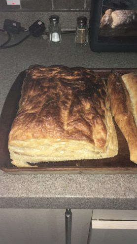 Random photo: I advise you that puff pastry does not substitute crescent rolls in a pinch.