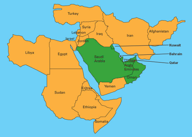 MENA Regional Lighting Policy Facts Middleeastlightingae - Map of egypt and uae