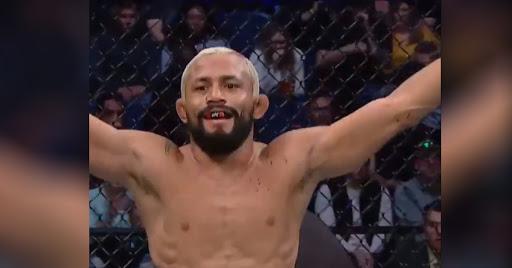 Deiveson Figueiredo Def Joseph screenshot: @UFC on Twitter