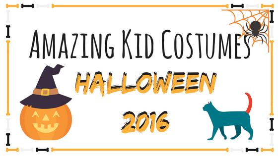 Amazing Kid Halloween Costumes 2016