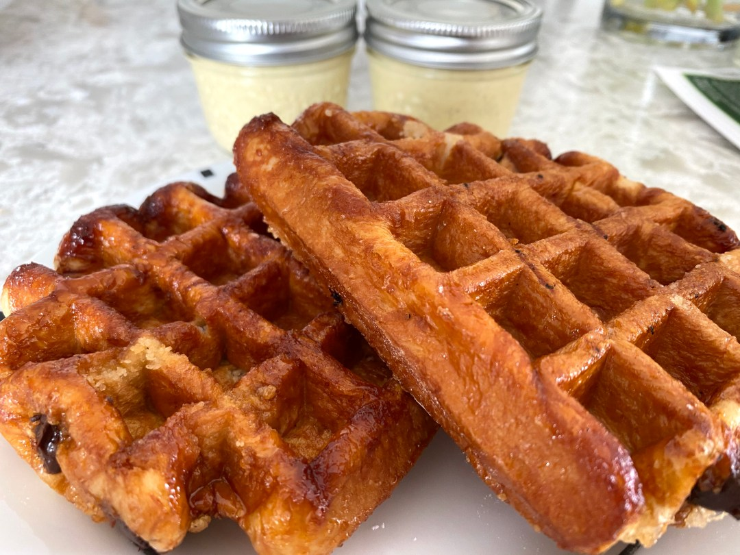 Craque du Creme Brussels Waffles